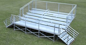 5 Row Elevated Bleachers