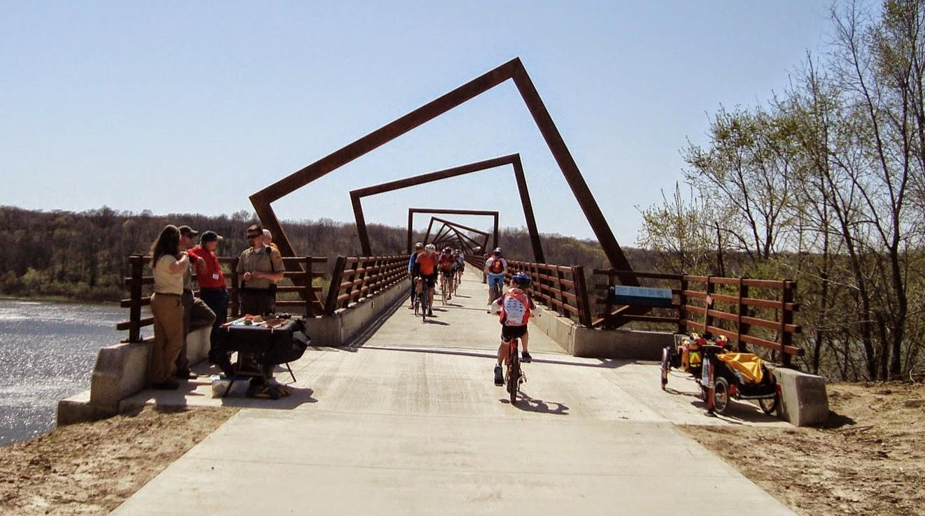 High Trestle bike trail