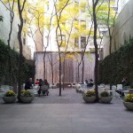 """How to Create a """"Pocket Park"""" with a few Benches, Trees and Passionate Neighbors"""