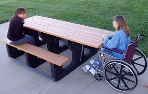 ada picnic tables - Commercial Picnic Tables