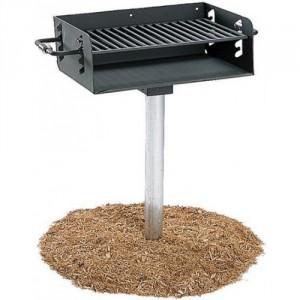 ADA compliant park grill