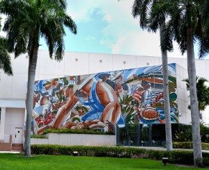 Mural on Delray Beach Courthouse