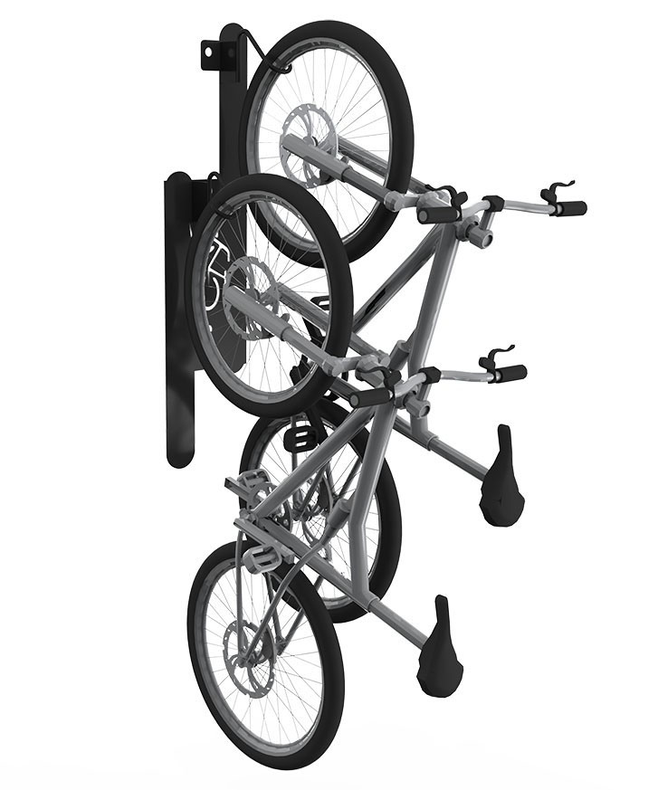 wall mount bike rack