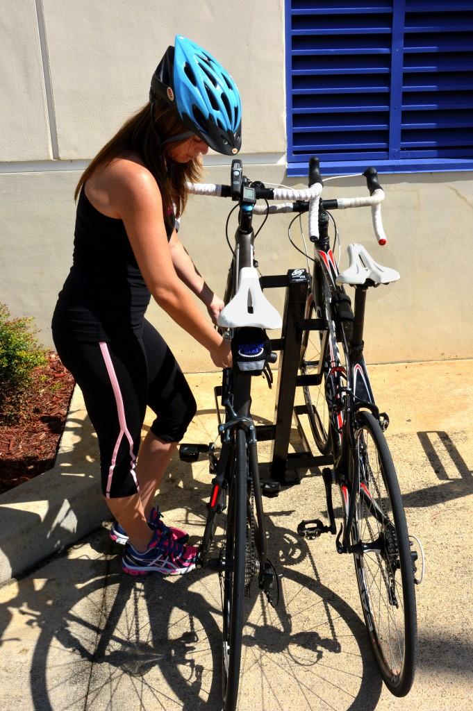 high-density bike racks
