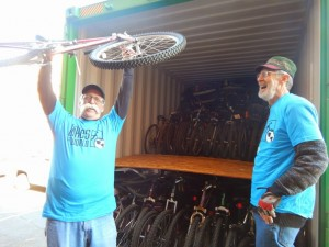 Volunteers for Bikes for the World