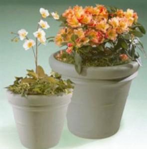 commercial fiberglass planters