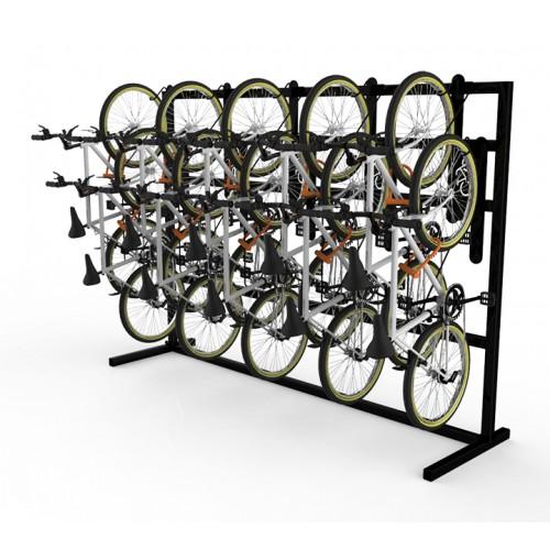 doubleup vertical bike rack