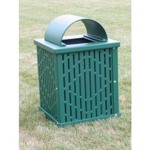 large capacity trash receptacle