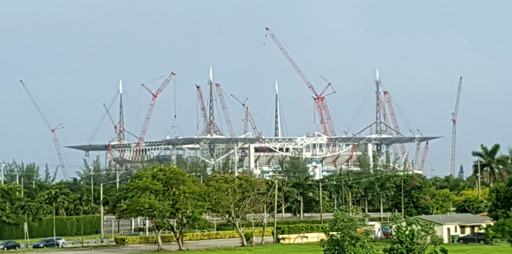 new miami stadium construction
