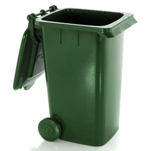 transportable trash receptacles