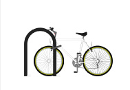 inverted u bicycle rack