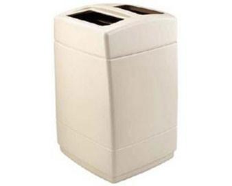 55-Gallon Square Waste Container