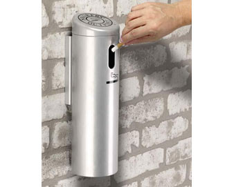Wall-Mounted Smokers' Outpost