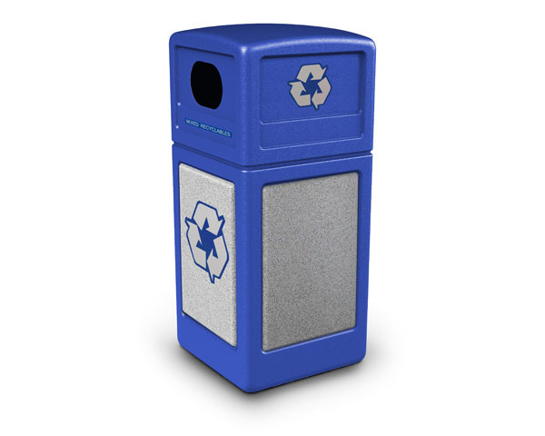 Recycling Waste Container - 42 Gallon