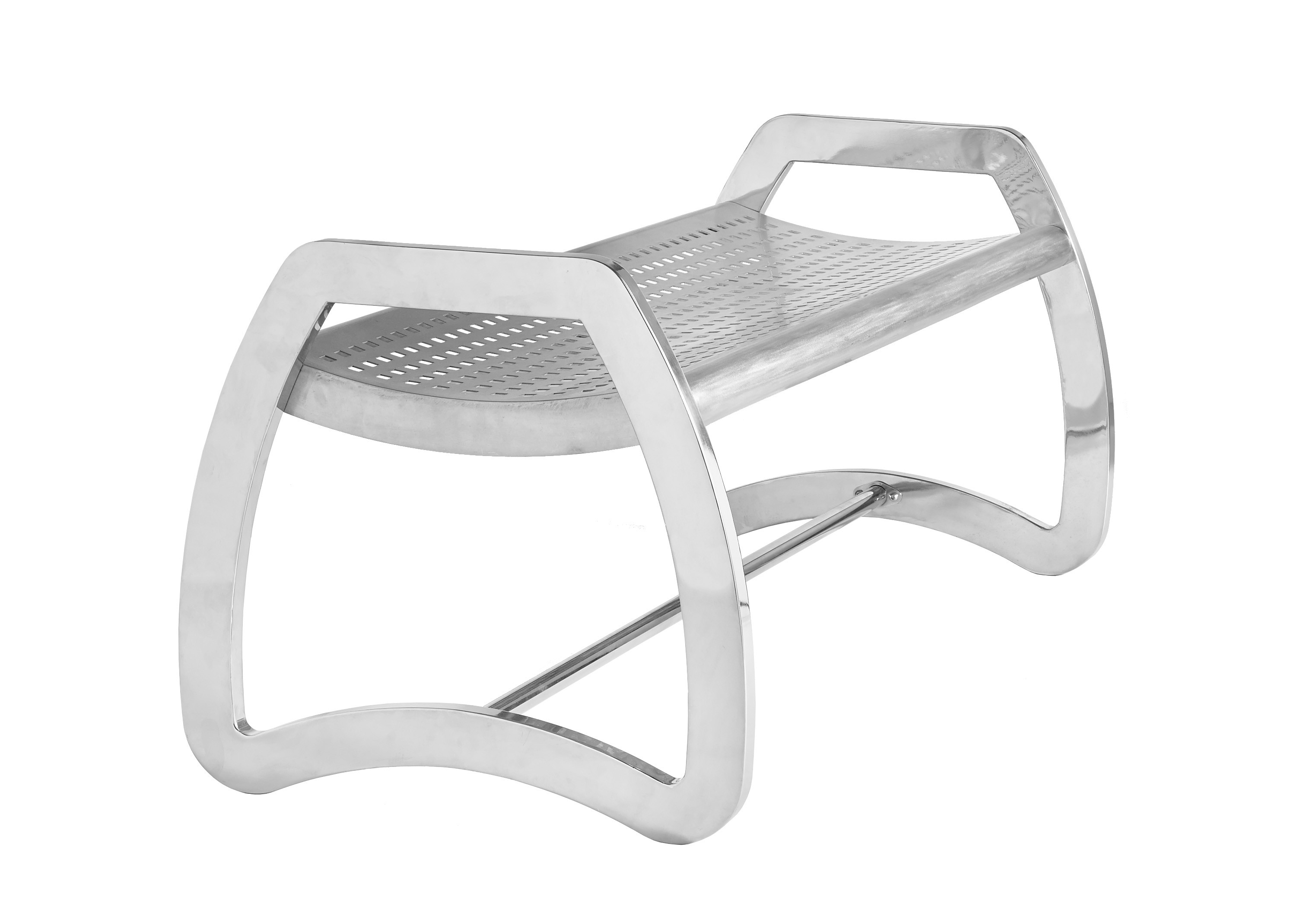 Skyline Stainless Steel Backless Bench