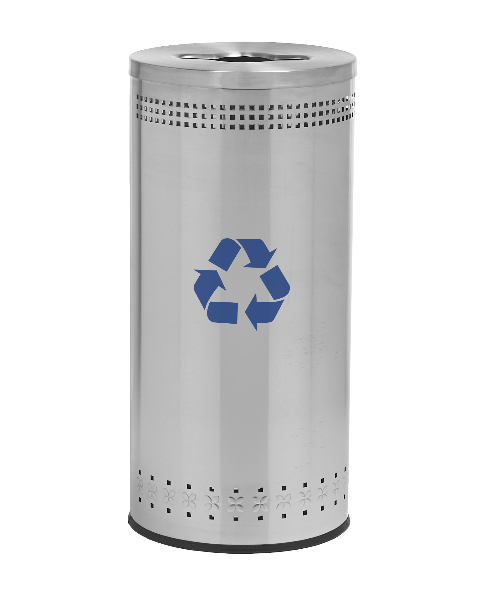 Imprinted 25-Gal Recycling Receptacle