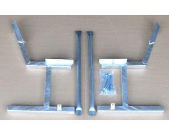 14-Gauge Galvanized Metal Frame for Portable Park Bench (set of 2)