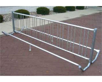 119 Double Entry Bicycle Rack with 18 Bike Capacity