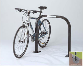 2-Bike *Square Tube* Inverted-U Bike Rack