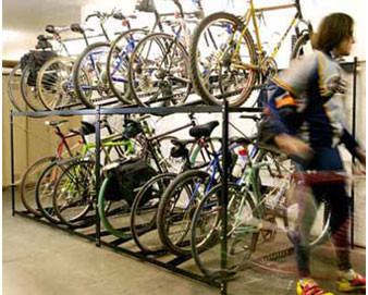 8-Bike Double-Decker Bike Rack