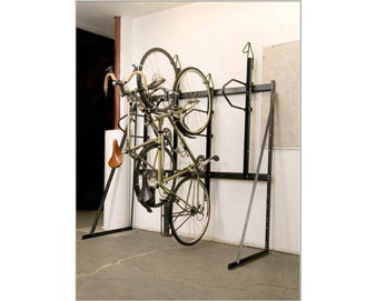 3-Bike Vertical Rack