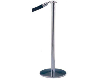Contemporary Design Rope Stanchion with Universal Base