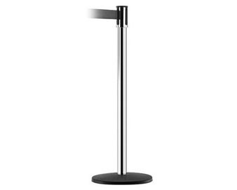 Slimline Stanchion with Black Basics Base