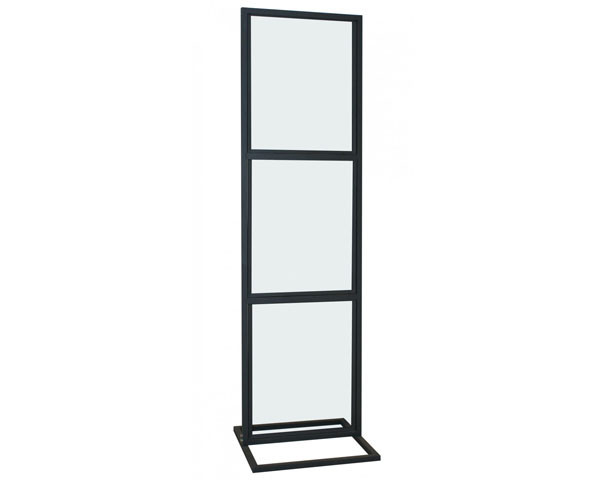 Triple Poster Display Stand