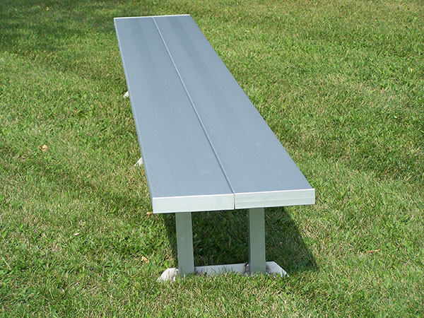 All-Aluminum Player's Bench - Portable