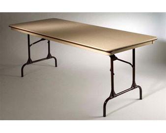 30 X 84 Rectangular Folding Table-Conference T-Leg.