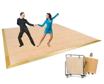Magnattach® Premier Portable Dance Floor Packages - 26 to 402 Dancers.