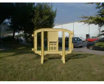 Small Plastic Barrier Panel