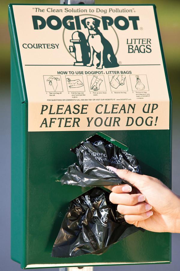 DOGIPOT Aluminum Junior Pet Waste Bag Dispenser
