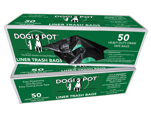 DOGIPOT Smart Liner Trash Bags 1 Roll (50 bags per roll)