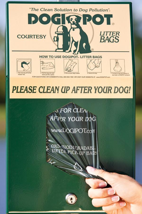 DOGIPOT Header Pak Junior Bag Dispenser