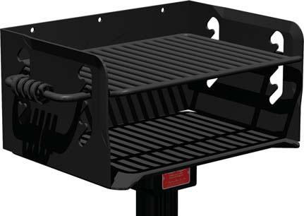 300 Sq. Multilevel Park and Camp Grill