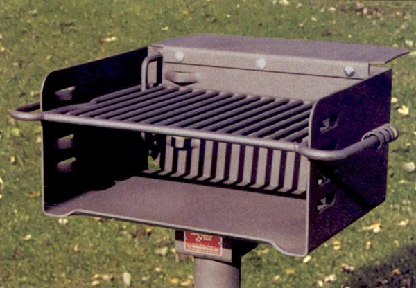 300 Sq. Multilevel Camp Site Grill