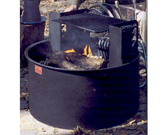 32D ADA Fire Ring with 300 Sq. 4-Level Adjustable Cooking Grate