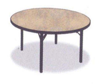 60 Round H Leg Table