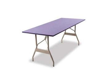 5-Ft. x 24 High-Quality Rectangular Wishbone Leg Table