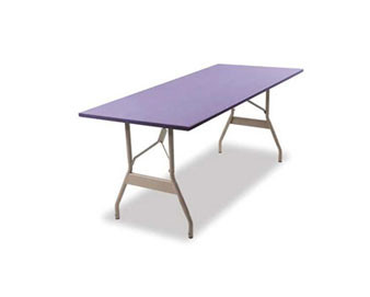 8-Ft. x 24 High-Quality Rectangular Wishbone Leg Table