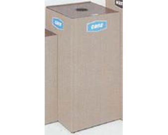 28.5-Gal. Collect-a-Cube Series Recycling Center with Retainer Bands