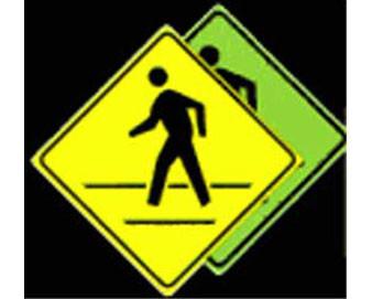 24 x 24 - Pedestrian Crossing Sign