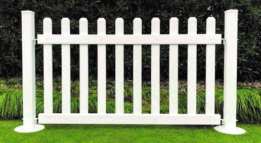 Portable Picket Style Fence Panel