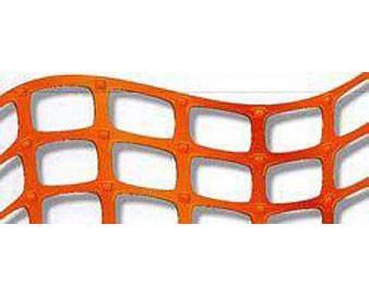Orange Lightweight Roll-Out Warning Barrier Fencing