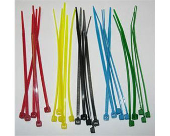 100 Colored Zip Ties for PolyTube Cap™