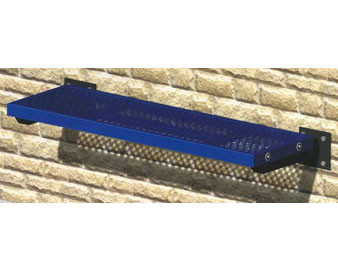 4L Wall-Mounted Steel Mesh Flat Bench