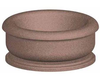 72Diax30H Round Concrete Planter.