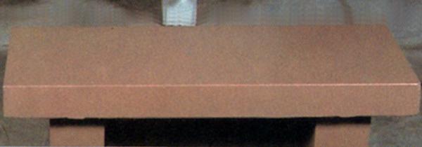 5ft Flat Concrete Bench