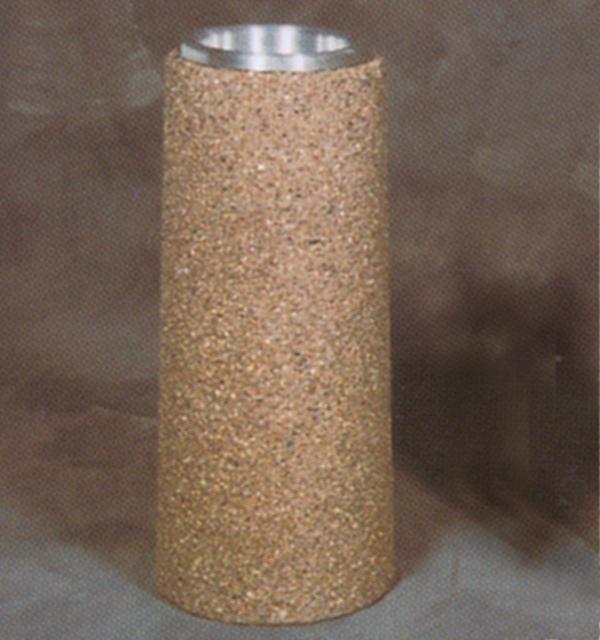 Round Concrete Urn - 18Dia x 27.5H